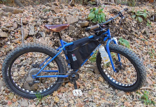 Revelate Designs Frame Pack for the Surly Pugsley.