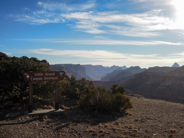 Little Grand Canyon Overlook.