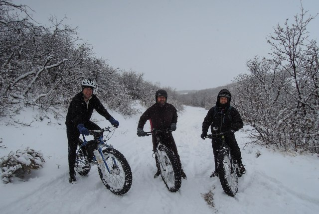 The Fat Bike Brigade