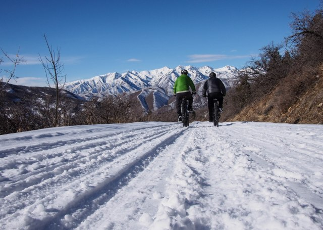 A nice fast descent back into Hobble Creek Canyon