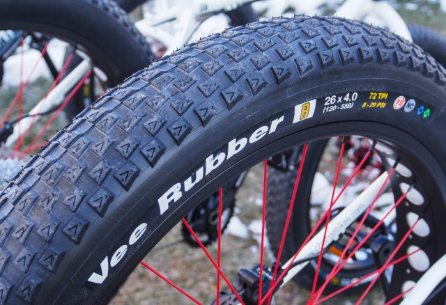 The Vee Rubber V8 tire