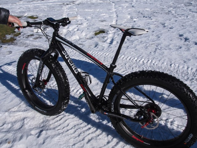 The second place finishers carbon wonder, Borealis Yampa with carbon rims.