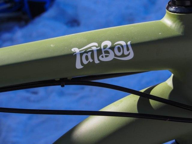 Fatboy detail