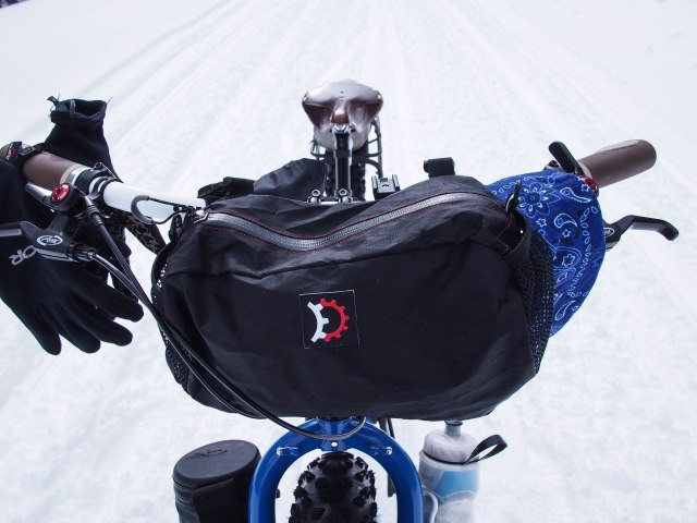 RD pocket as handlebar bag.
