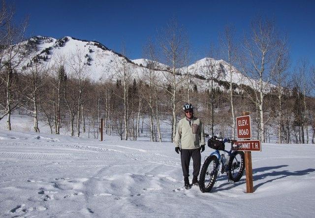 Alpine Loop summit.