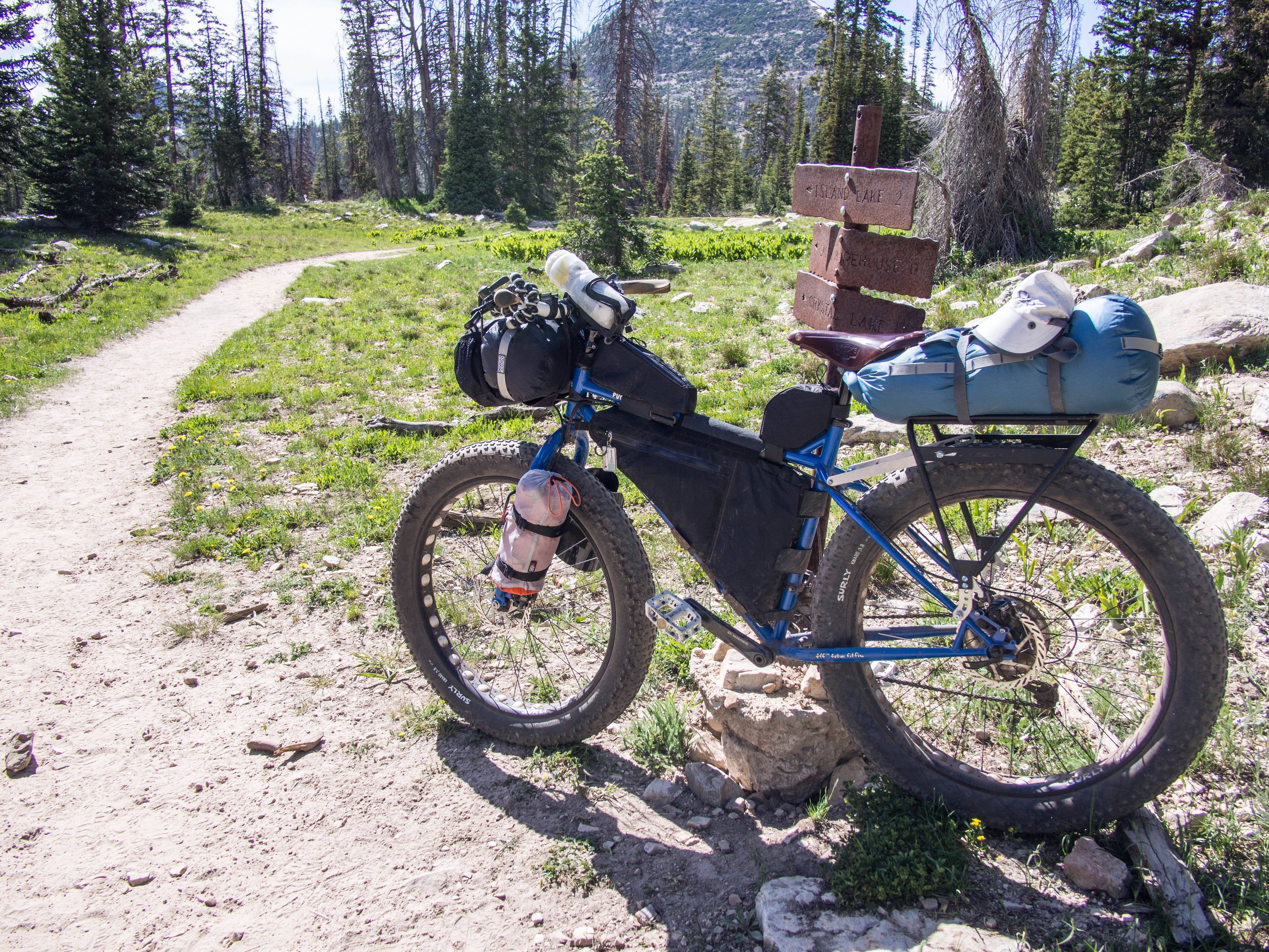 Some Thoughts On My Bikepacking Setup Fatbike Brigade