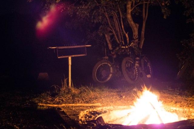 Fatbike campfire.