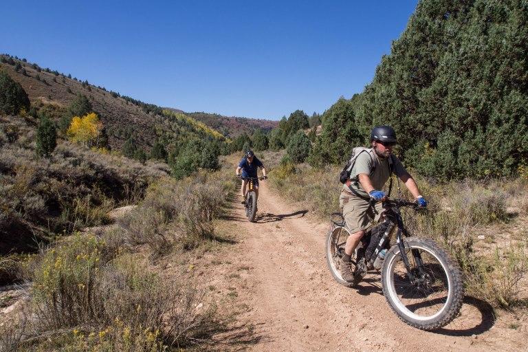 Heading down Trail #1276