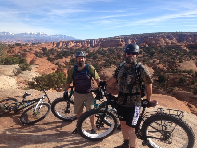 Bullet and Doc in Moab