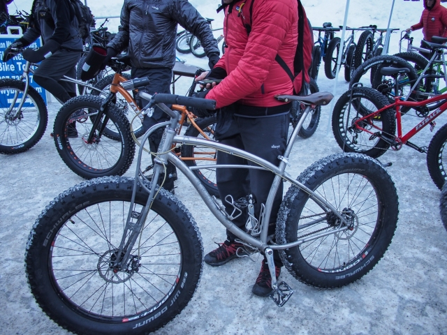 Titanium fatbike from Black Sheep Bikes in Fort Collins, CO.