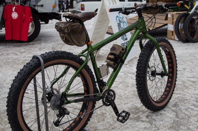 Kent's Mukluk build (of Mad Dog Cycles).