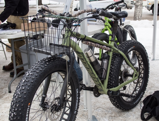 A Specialized Fatboy spec'd out for antelope hunting, really.