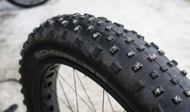 Schwalbe Jumbo Jim's, which come on the Felt fatbikes.