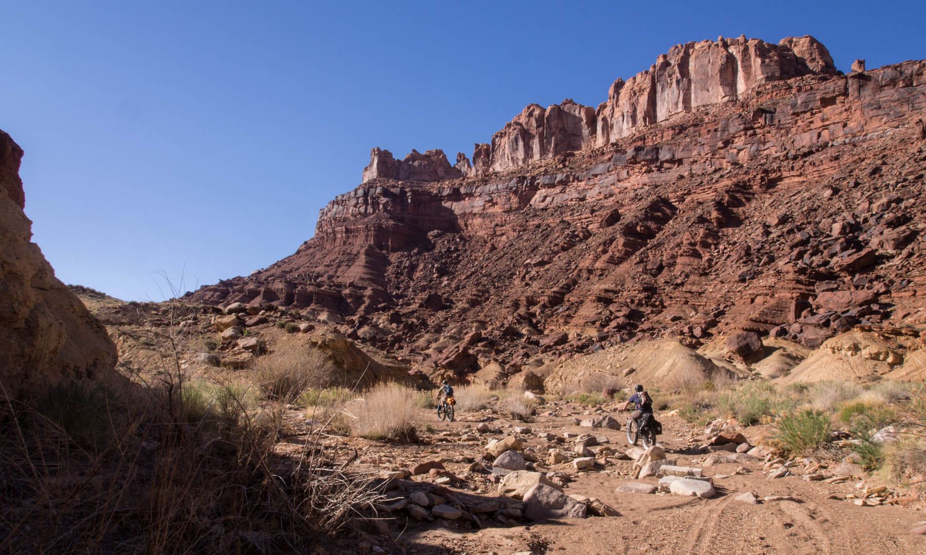 Black Dragon Wash Ut A Fatbike Packing Trip Into The