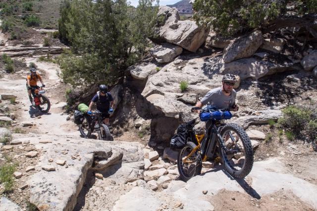 Chunky hike-a-bike