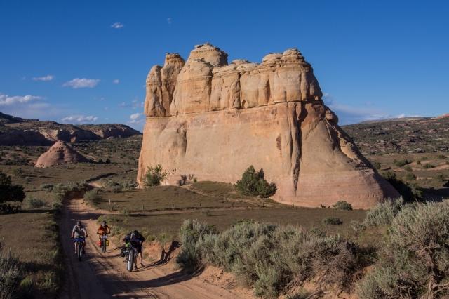 Castle Rocks in Rabbit Valley