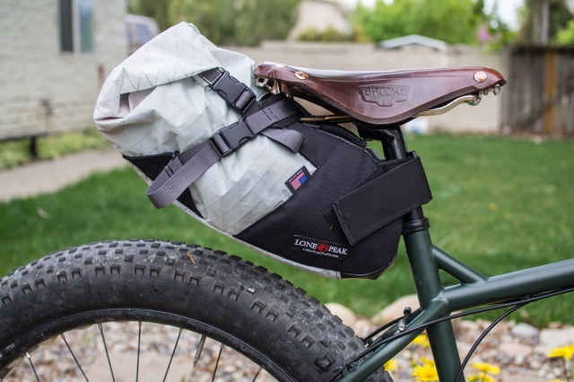 Lone Peak's new bikepacking seat pack